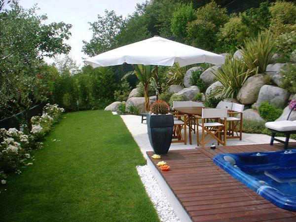 Idee giardino: ravvivare e abbellire il giardino con le piante.progettazione ...